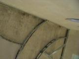 Потолок в зале, каркас под гипсокартон.